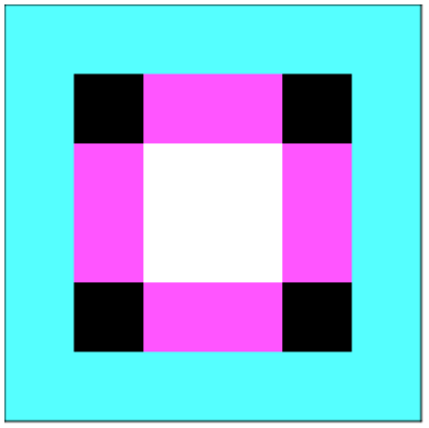 Example bitmap generated by bitmap module.
